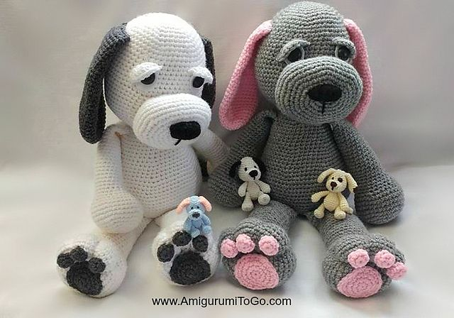 Ravelry: Cuddle Me Puppy pattern by Sharon Ojala