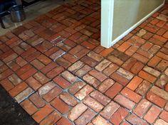 How to Clean Interior Brick Floors