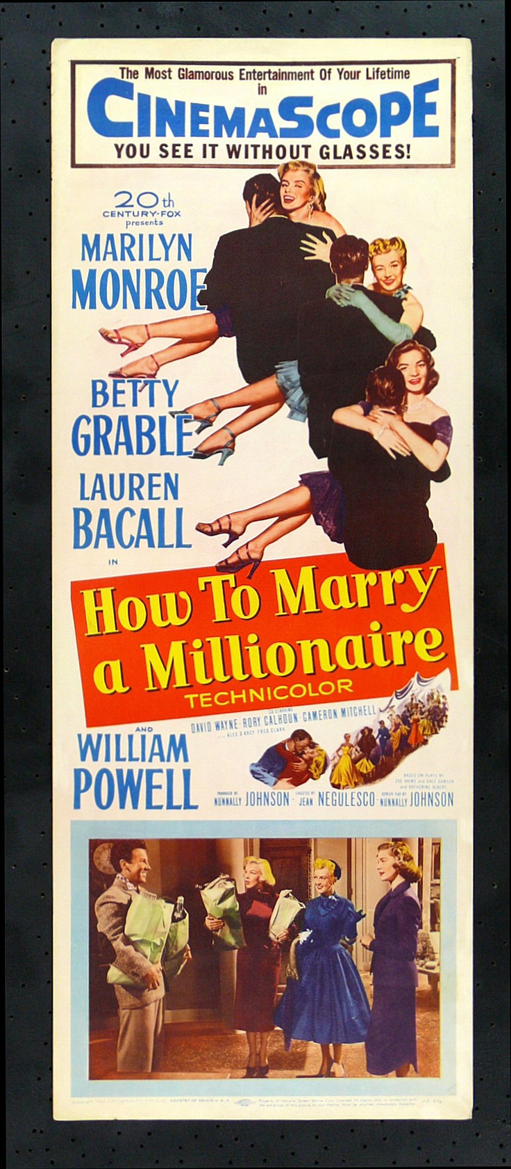 """This was the second Marilyn film I ever saw. I can't remember where or how, but it was a good couple of years after 'The Seven Year Itch'. This was in the day before I managed to con my Dad into getting a VCR. I love everything about this film, particularly Marilyn's romance with David Wayne and the final scene - """"Gentlemen, to our wives!"""" I won't say any more in case you haven't seen it. No spoilers here!"""