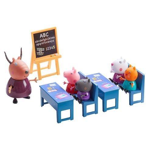 Pipsa Possu luokkahuone leikkisetti