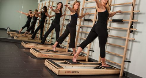 Workout on the CoreAlign
