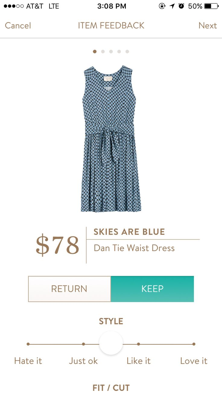 Odilia dress stitch fix for plus