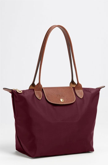 If anyone wants to get me this for Christmas i'd love you forever... just saying      Longchamp 'Le Pliage - Medium' Tote available at #Nordstrom