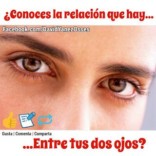 David Yañez Osses: La relación entre tus dos ojos