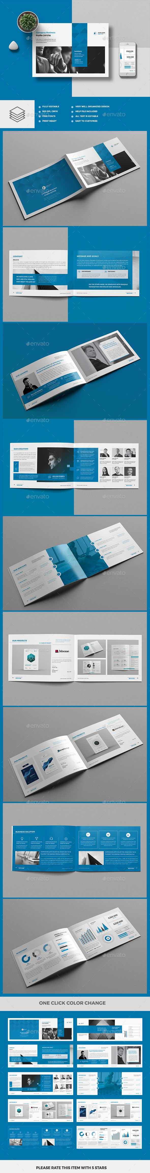 #Company Profile 20 Pages - Corporate #Brochures Download here: https://graphicriver.net/item/company-profile-20-pages/19973721?ref=alena994