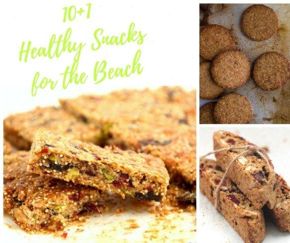 10+1 Healthy Snacks for the Beach – 10+1 Υγιεινά Σνακ για την Παραλία