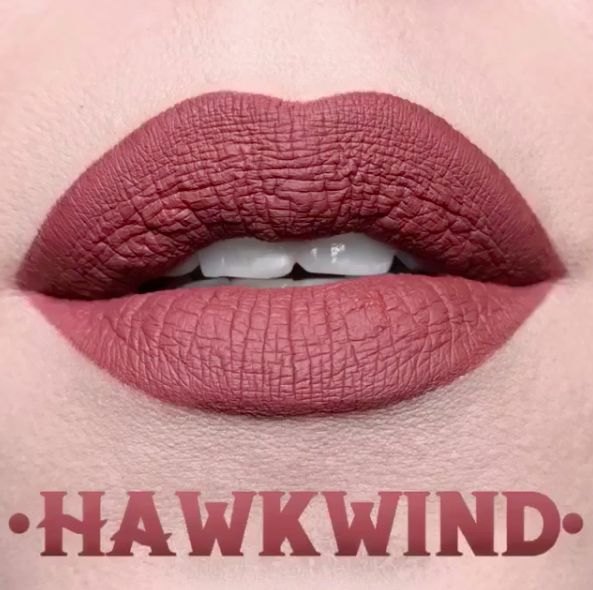 Kat Von D Everlasting Liquid Lipstick - Hawkwind  https://www.instagram.com/p/BOnAUDhBi2B/