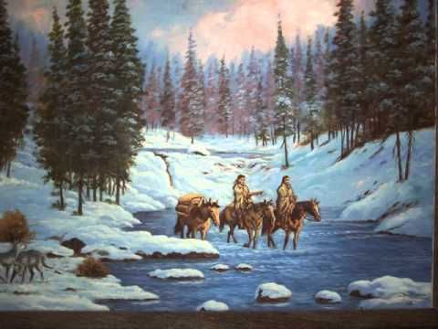 """Bells Will be Ringing... Please Come Home for Christmas""--by--Willie Nelson-- (The artist in me always wants to see pretty paintings and pictures too!  These are beautiful.)"
