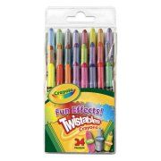Crayola Fun Effects Twistable Crayons, 24-Count