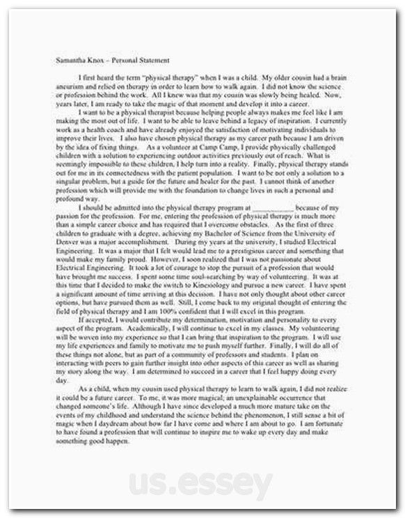 personal essay topics