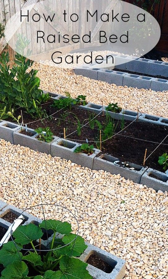 How To Make A Raised Vegetable Garden Woodworking Projects Plans