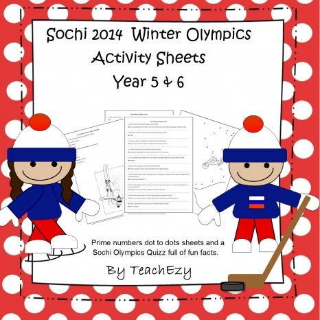 Sochi Winter Olympics Quiz Kristina says- This was such a helpful resource last year during the winter olympics. My students loved researching events and athletes!