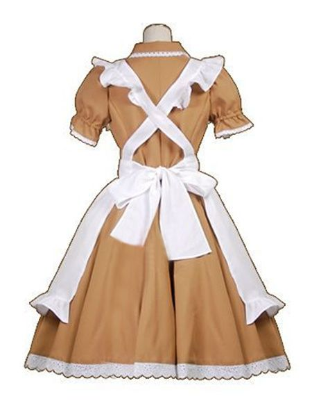 Hetalia: Axis Powers Chibi Romano Maid Costume