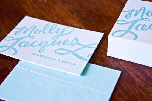 Molly Jacques business card