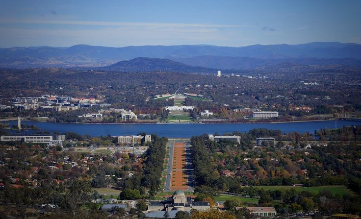 Canberra from Mount Ainslie