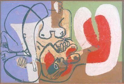 Le Corbusier Deux femmes au repos 1939