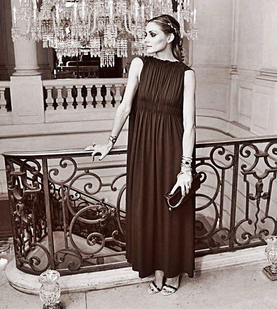 Um Raio De Sol Na Água Fria : Olivia Palermo in Paris