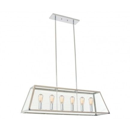South&ton 6 Light Pendant in Stainless Steel | H&tons Habitation $674  sc 1 st  Pinterest & 89 best Hamptons Lighting Australia images on Pinterest | Light ... azcodes.com