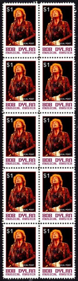 42- bob dylan stamps