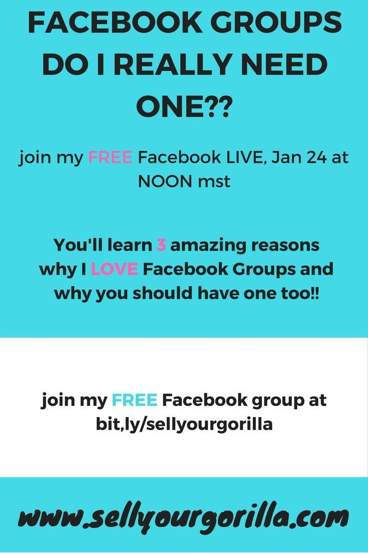 Facebook Groups!! Do I really need one?  I'll share with you my top 3 reasons why I LOVE Facebook groups!