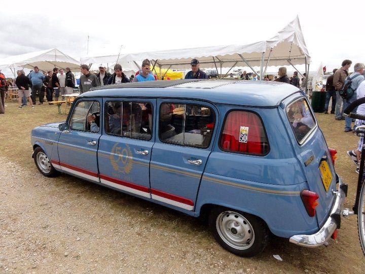 Renault 4L limousine ;-)