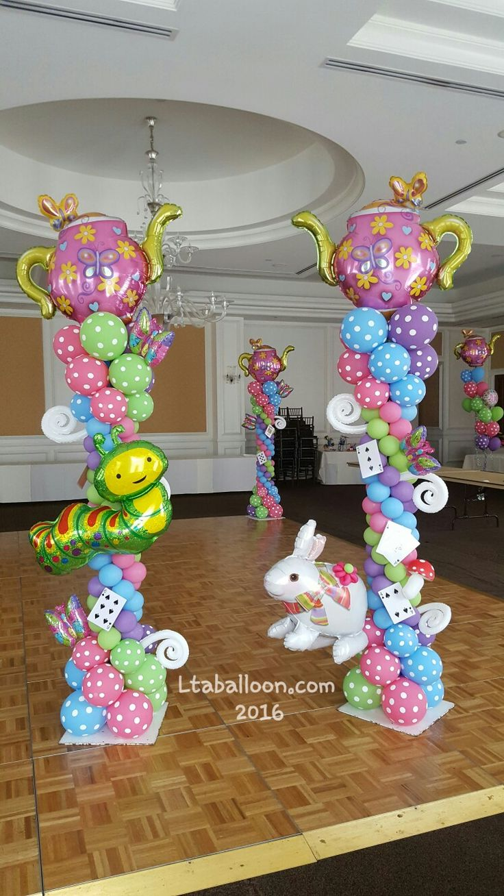51 Best Images About Alice In Wonderland Balloon Ideas On