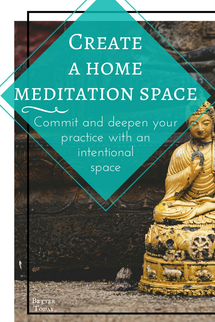 How to create a meditation space a home, ideas, meditate, indoors, design, decor, sacred spaces, in your bedroom, creating intention #meditation Mindfulness,