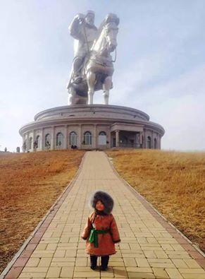 Cengiz Han Haykeli - Moğolistan .