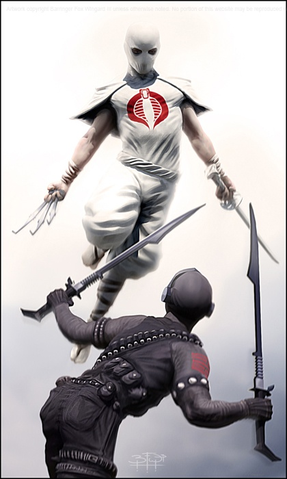 JHALAL DRUT: Snake Eyes & Storm Shadow
