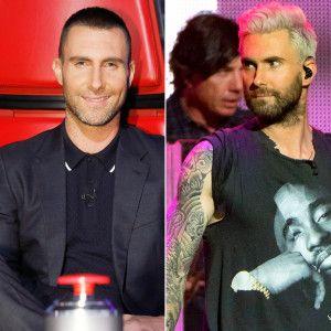 Adam Levine Says Wife Behati Prinsloo 'Loves' His Blonde Hair