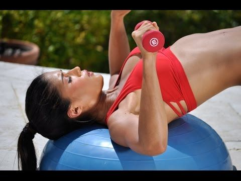 ▶ 30 min Full Body BOSU Ball Workout with Dumbbells - 10 Exercises to Build Muscle & Lose Weight - YouTube