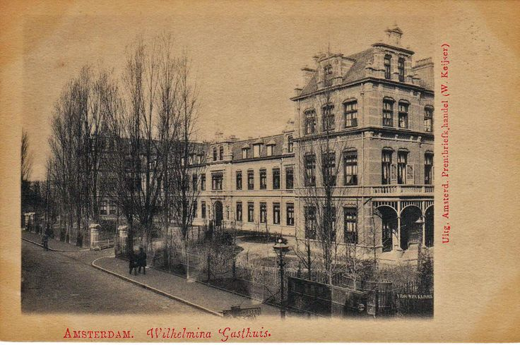 1 ste Helmersstraat - wilhelmina Gasthuis