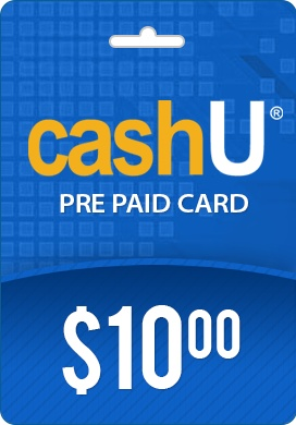 CashU PrePaid Card- $10 CashU is much safer way to make payments online, with CashU you do not need to reveal your credit card or bank information. Simply input the 16 digit CashU code into the merchant web site, it's that easy! http://www.pcgamesupply.com/buy/CashU-10/