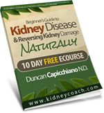 Juicing recipes for Kidney Problems