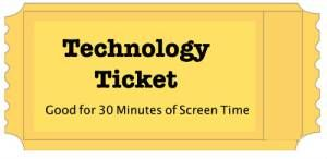 technology tickets for kids