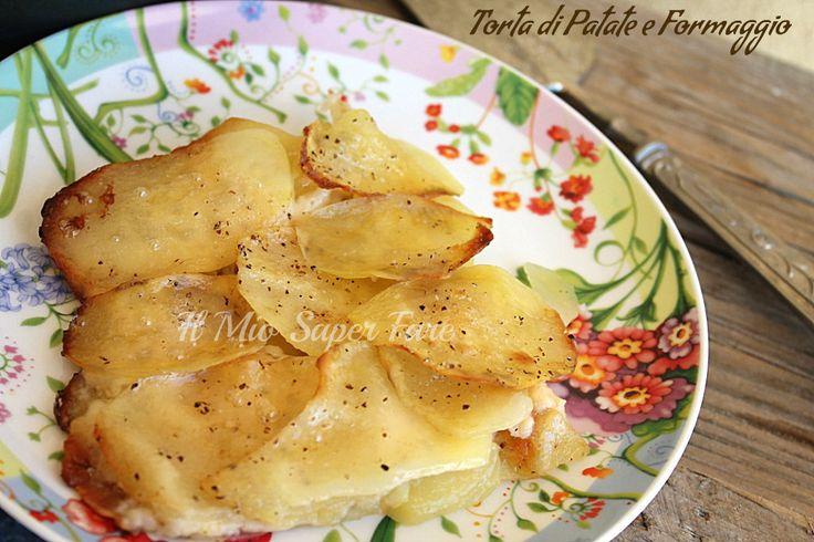 Torta Patate Formaggio ricetta sfiziosa, semplice e gustosa. Si realizza in poco tempo trasformando semplici ingredienti in piatti gustosi per la famiglia.