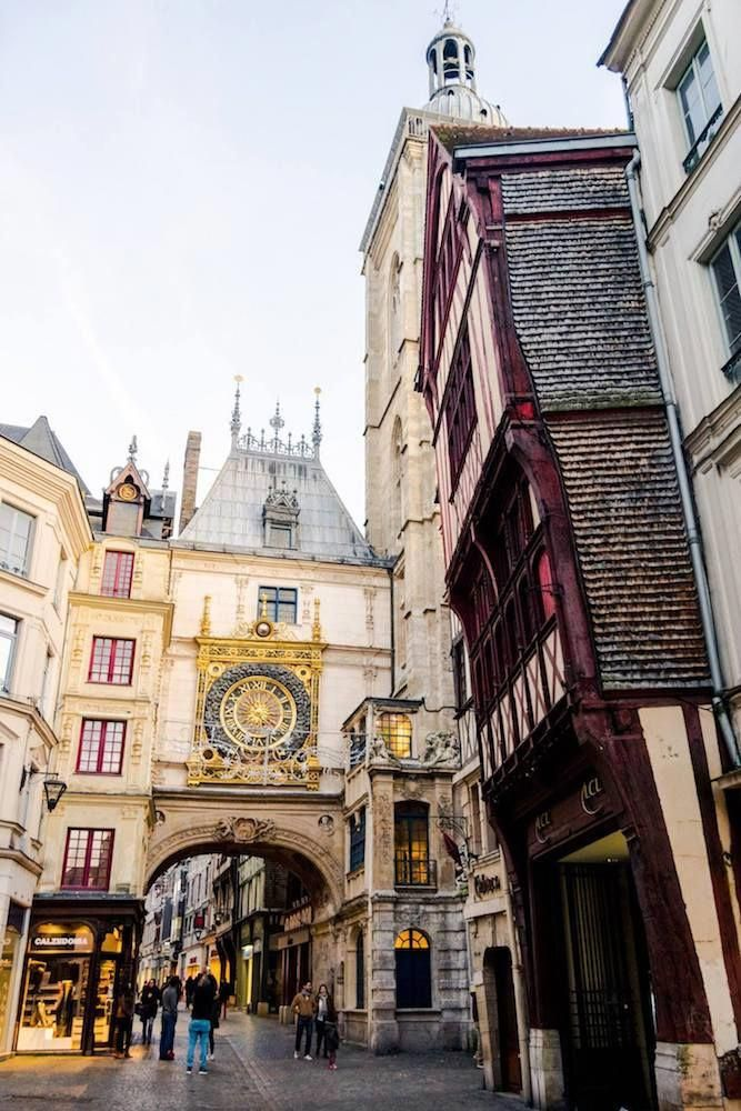 Rouen Is A Beautiful City In Normandy That You Must Include On Your Normandy Itinerary A Rouen Is Best Vacation Destinations Day Trip From Paris France Travel