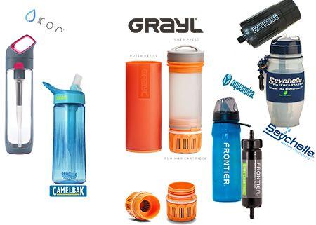 Best Filtered Water Bottles Guide 2018