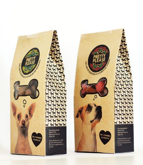 pet dog food packaging bag design  #emballage #plastique #aliments #animaux…