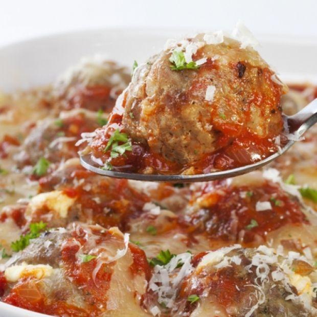 Turkey Meatballs In Tomato Cheese Sauce Recipe from Grandmother's Kitchen