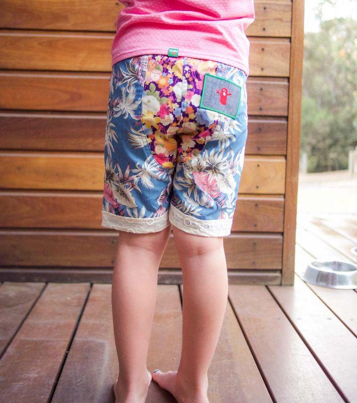 Nasama Short - Big, Oishi-m Clothing for Kids, Holiday 2017, www.oishi-m.com