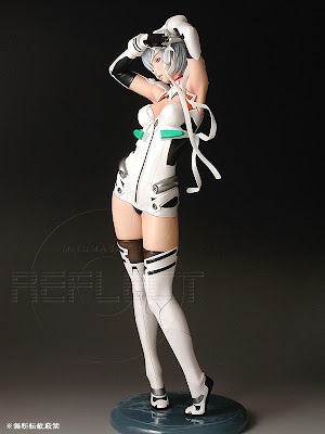 Rendered Beauty: Rei Ayanami 1/7th scale Figure from Reflect