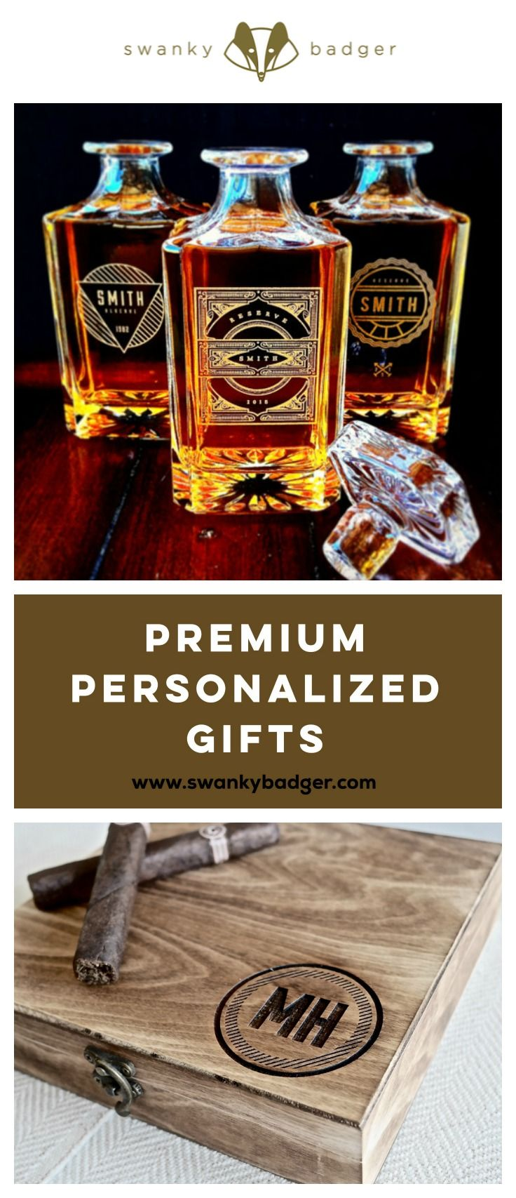 Premium Personalized Gifts for Men from Swanky Badger are the perfect solution for any gifting occasion. With a range of gifts that can be personalized to feature names, significant dates, or a personal message of your choice, Swanky Badger products feature the dandiest of details to delight the dudes you hold so dear. www.swankybadger.com