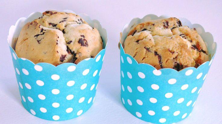Saftige, weiche, leckere Muffins mit Schokostückchen….nicht nur bei Kindern s…