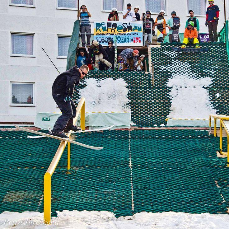 #Freeski and #snowboard #contest #reFRESHjam 2015 was great! Richie was killing it