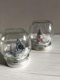 Terzo martedì di Natale al Verde! Vi spiego come trasformare facilmente un barattolo in una palla di vetro con la neve: molto invernale e Natalizio.