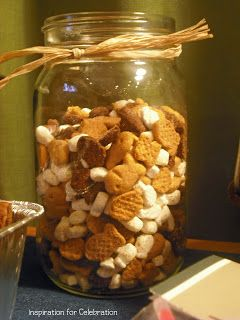 Girl Scout Chex Mx In Mason Jars