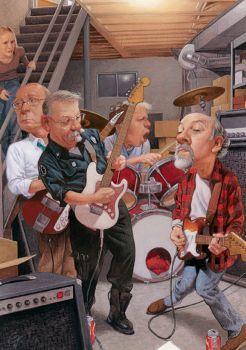 C.F.P. basement band (140 pieces)