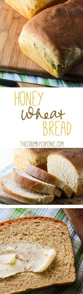 Honey Wheat Bread | A simple, healthy, delicious honey wheat bread with a lovely browned crust and a soft, tender crumb. Perfect for all the BLTs and PB&Js in your life!