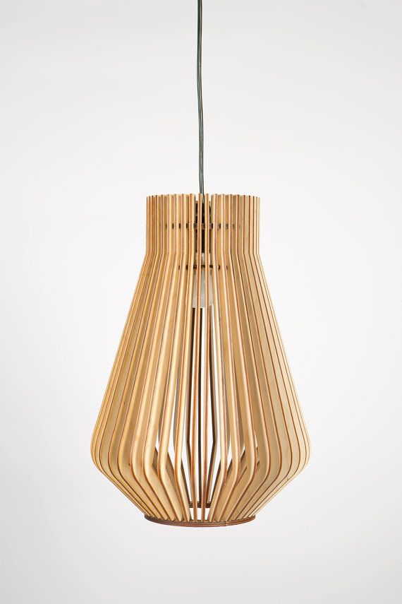 Scandinavian style wooden hanging lamp,lighting,Lighting,design lamp,kitchen lamp,Lamp,birchwood,dark wood,laser cut,natural white wood on Etsy, $119.00